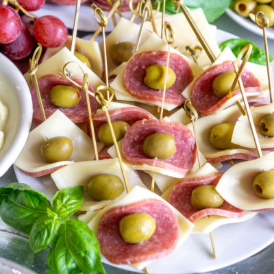 Easy Salami & Cheese Appetizer