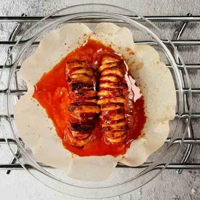 Hasselback Chorizo