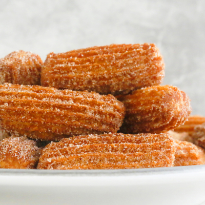 Homemade Churros Recipe with Nutella Ganache