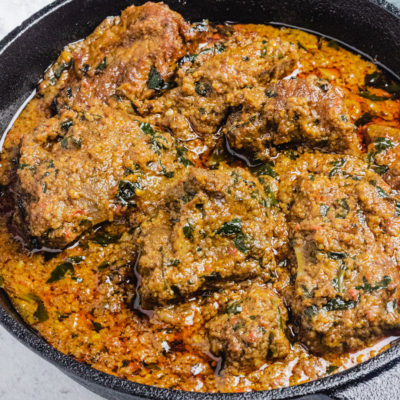 African Beniseed Soup