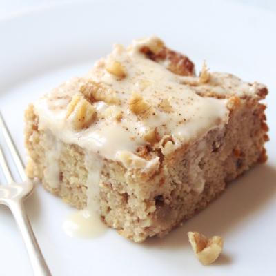 Best Ever Gluten Free Banana Bread Sheet Cake