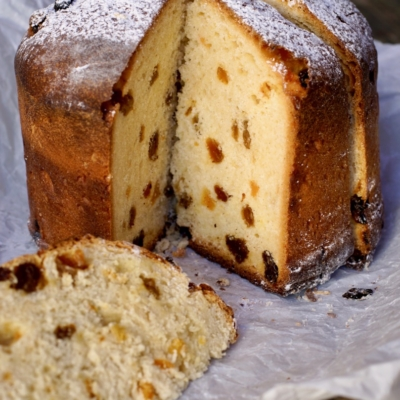 Panettone (Italian Christmas Bread)