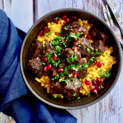 Lamb Stew With Israeli Couscous