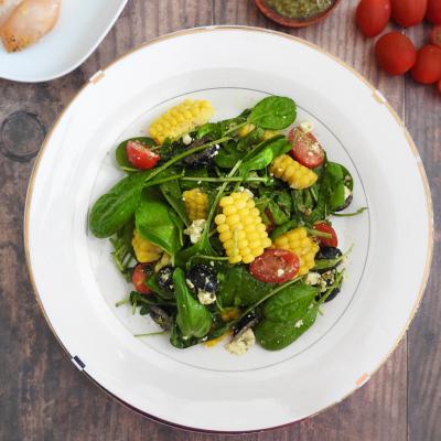 Texan Greek Salad