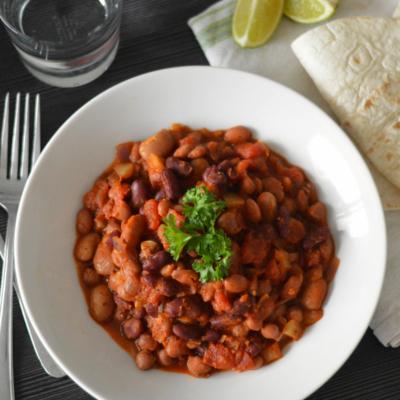 Mixed Bean Chilli