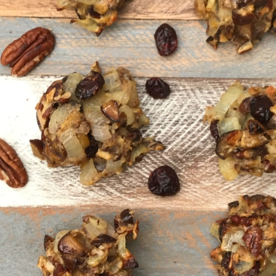 Vegetarian Stuffing with Chestnuts, Pecans and Cranberries