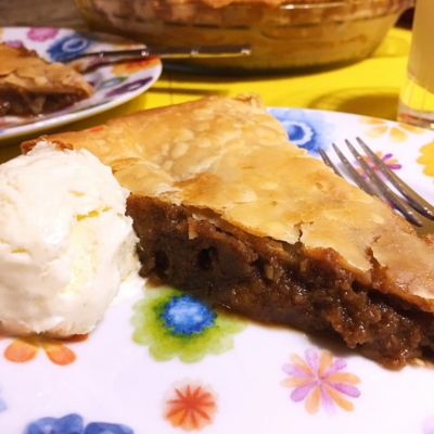 Tarte au Sucre • Sugar Pie