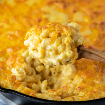 Baked Cheddar Mac and Cheese