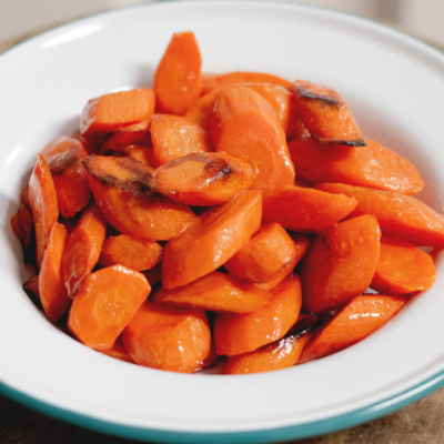 Easy Honey Roasted Carrots