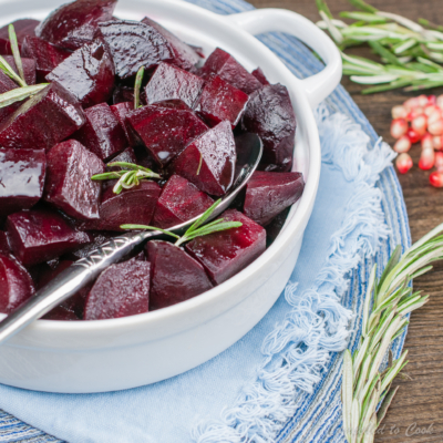 Pomegranate Balsamic Beets