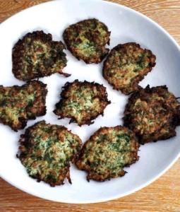 Dill Cauliflower Fritters