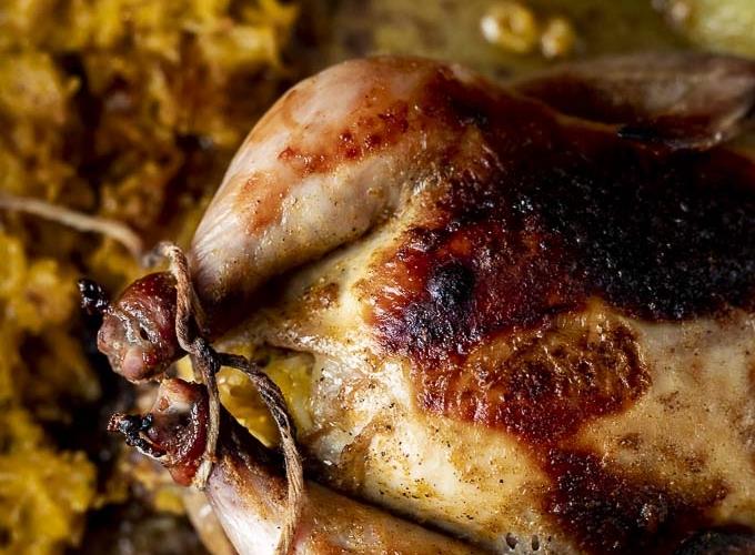 Stuffed Cornish Hen