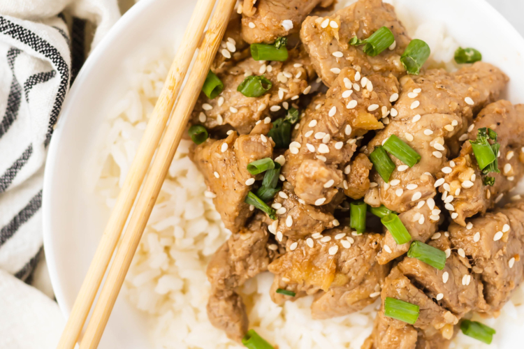 Ginger Garlic Pork