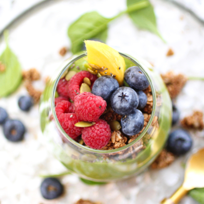 New Year Superfood Parfait