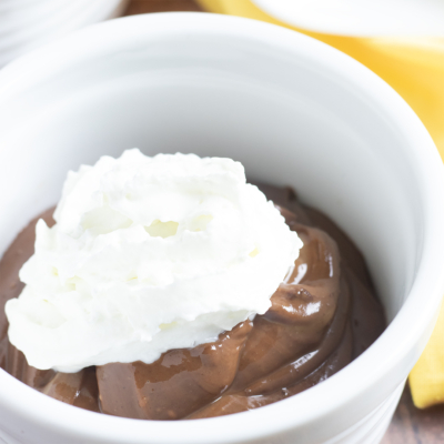 Keto Peanut Butter Chocolate Pudding