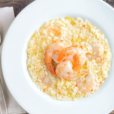 Lemon, Chilli & Prawn Risotto