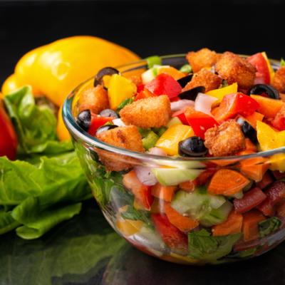 Vegetable Salad / Healthy Salad/ Mediterranean Salad