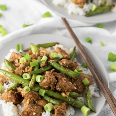 Chicken and Green Bean Stir Fry