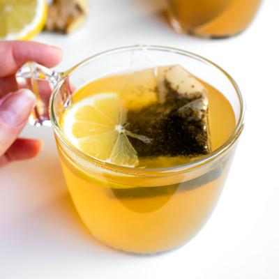 Ginger Lemon Honey Tea