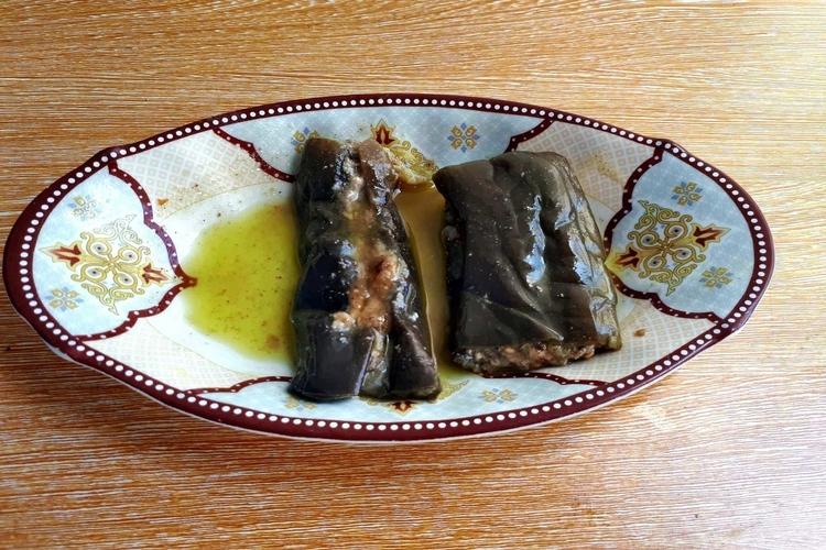 Makdous - Pickled Eggplant