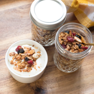 Easy Spiced Granola with Nuts