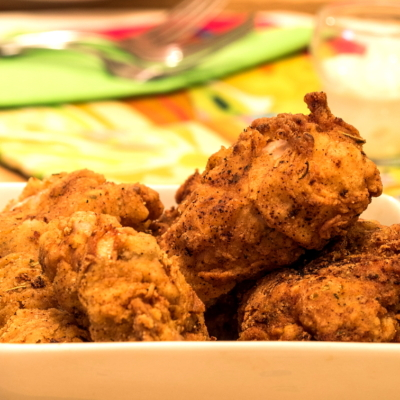 Electric Skillet Fried Chicken