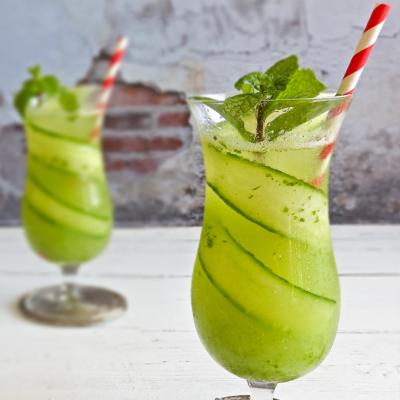 Cucumber & Mint Cooler Mocktail