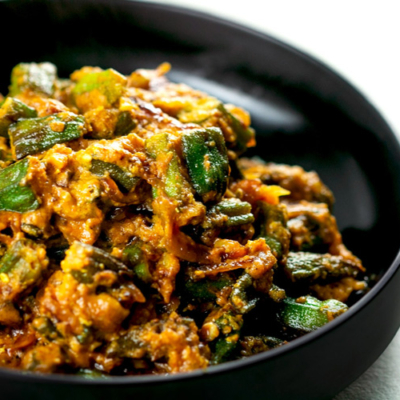 Indian Spicy Okra Curry