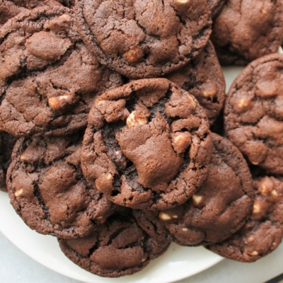 """Reverse"" Chocolate Chunk Cookies"