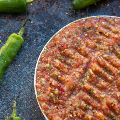 Acili Ezme – Spicy Turkish Salsa