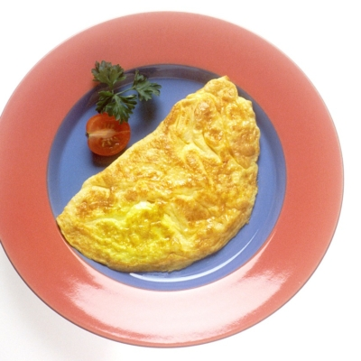 Cheese & Bacon Omelette