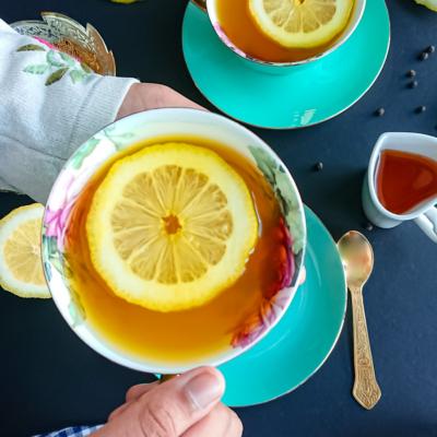 4 Ingredient Turmeric Tea Recipe