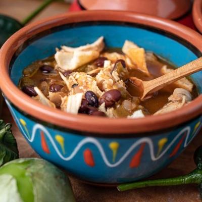 Instant Pot Chipotle Chicken Tortilla Soup