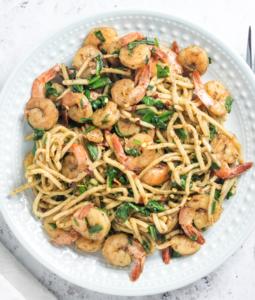 Palmini Pasta Shrimp Stir Fry