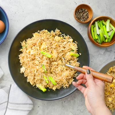 Instant Pot Egg Fried Rice