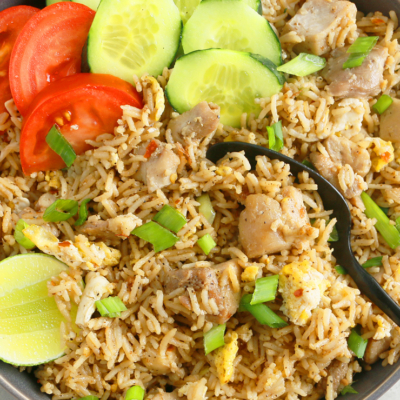 Instant Pot Thai Chicken Fried Rice