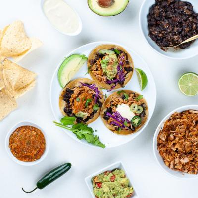 Easy Vegan Jackfruit Tacos! (Soy-free & GF)