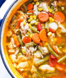 Easy Chicken Vegetable Soup (aka Pantry Soup)