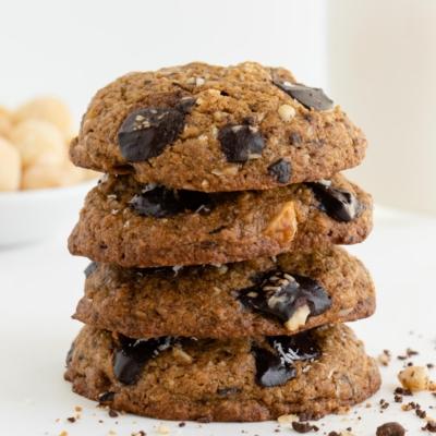 Chocolate Chunk Hawaiian Cookies (Vegan & GF)