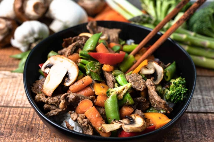 Clean Out Your Refrigerator Stir Fry