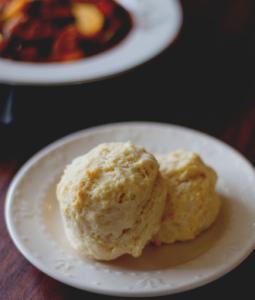 Easy Garlic Drop Biscuits
