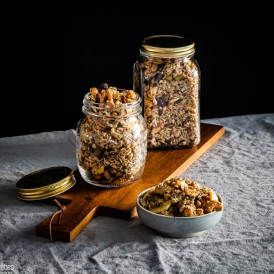 Easy Grain-Free Granola with Nuts, Seeds & Coconut