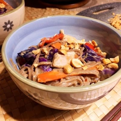 Japanese Chicken Soba Noodles