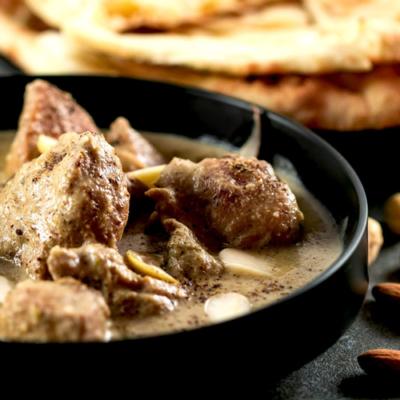 Shahi White Chicken Korma