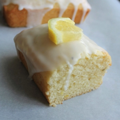 Lemon, Ricotta & Thyme Mini-Loaves