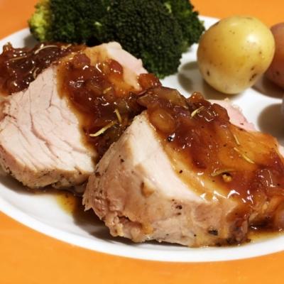 Maple Mustard Pork Tenderloin