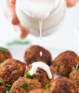 Easy Vegan Falafel Recipe (Baked or Air-fried)