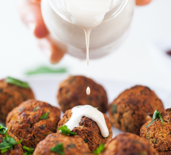 Easy Vegan Falafel Recipe (Baked or Air-fried)