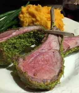 Rack of Lamb with Herbes de Provence