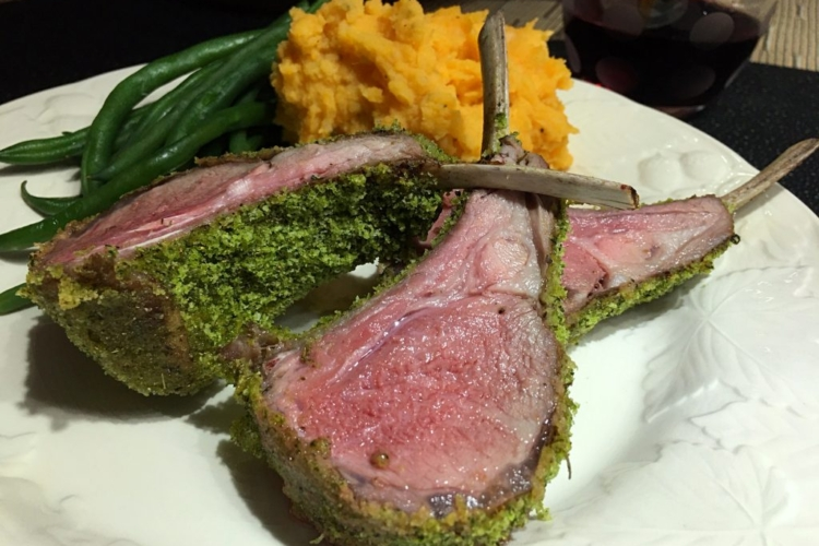 Rack of Lamb with Herbes de Provence